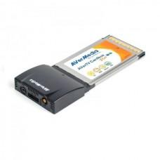 TV Tuner nou PCMCIA Avermedia AVerTV-Cardbus-PLUS, Telecomanda, MPEG-1/2/4, teletex, radio, H.264