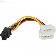Cablu Alimentare Placa Video de la 2 X Molex la 6 pini