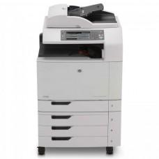 Imprimanta Multifunctionala HP Laser Color CM6040f MFP, A3/A4, 40 pagini/minut color, 220.000 pagini/luna, 600 x 600 DPI, Duplex, USB, Network, Fax, DADF, Scanner, CARTUSE NOI, 2 ANI GARANTIE