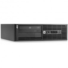 Workstation HP Z210 Desktop, Intel Quad Core Xeon E3-1225 3.1 GHz, 4 GB DDR3, 250 GB HDD SATA, DVDRW, Windows 10 Pro