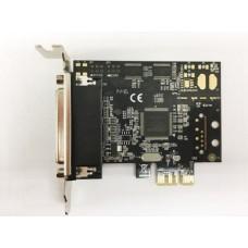 Placa PCI-Express 1x cu port paralel