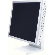 Monitor 19 inch LCD, NEC MultiSync 1980SX, Silver & White