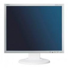 Monitor 19 inch LCD, NEC MultiSync EA190M, Silver & White