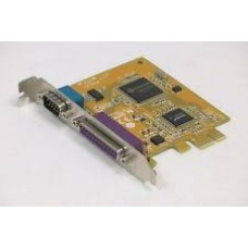 Placa Paralel & COM Port, Sunix 0GP385, 1 x Parallel Port (LPT), 1 x RS-232 (COM) Pci-e 1x
