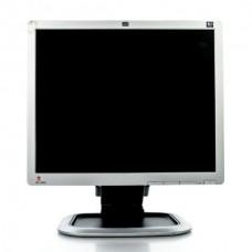Monitor 19 inch LCD HP L1950G, Silver & Black, Grad B