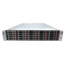 Server HP ProLiant DL380p G8, Rackabil 2U, 2 Procesoare Intel Ten Core Xeon E5-2650L v2 1.7 GHz, 16 GB DDR3 ECC Reg, 25 bay-uri de 2.5inch,Raid Controller SAS/SATA HP SmartArray P420i, iLO4 Adv, HP Ethernet 10Gb 530FLR, 2 x Surse Redundante