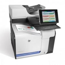 Imprimanta Multifunctionala HP LaserJet Enterprise color flow MFP M575c, 30 pagini/minut, 80.000 pagini/luna, 1200 x 1200 DPI, USB, Network, Fax, DADF, Cartus Toner Inclus