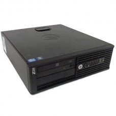 Workstation HP Z220 Desktop, Intel Core i7 Gen 3 3770 3.4 Ghz, 4 GB DDR3, 250 GB HDD SATA, DVD-ROM, Windows 10 Pro, 3 Ani Garantie