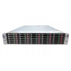 Server HP ProLiant DL380p G8, Rackabil 2U, 2 Procesoare Intel Ten Core Xeon E5-2650L v2 1.7 GHz, 16 GB DDR3 ECC Reg, 25 bay-uri de 2.5inch,Raid Controller SAS/SATA HP SmartArray P420i, iLO4 Adv, HP Ethernet 10Gb 530FLR, 2 x Surse Redundante, 2 ANI GARANTI