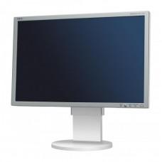 Monitor 22 inch LCD, NEC MultiSync EA221WM, White & Silver