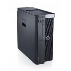 Workstation DELL Precision T3600, Intel Octa Core Xeon E5-2665 2.4 GHz, 16 GB DDR3, 256 GB SSD NOU, Placa Grafica nVidia Quadro 4000, Windows 10 Pro, Carcasa Grad B