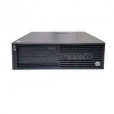 Workstation HP Z230 Desktop, Intel Core i5 Gen 4 4570 3.2 Ghz, 8 GB DDR3, 128 GB SSD NOU, DVDRW, Windows 10 Home, 3 Ani Garantie