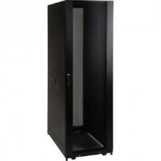 Cabinet Refurbished Rack Server IBM 1410-4RX, 42U, Black + Tava Fixa