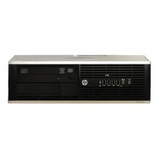 Calculator HP 6300 Desktop, Intel Celeron Dual Core G1610 2.6 GHz, 4 GB DDR3, 500 GB HDD SATA, Windows 10 Home, 3 Ani Garantie