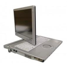 Laptop Panasonic Toughbook CF-C1, Intel Core i5 520M 2.4 Ghz, 4 GB DDR3, 250 GB HDD SATA, Wi-Fi, Bluetooth, Webcam, Display 12.1inch 1280 by 800, Carcasa Grad B
