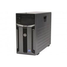 Server DELL PowerEdge T610 Tower, 2 Procesoare Intel Six Core Xeon E5645 2.4 GHz, 24 GB DDR3 ECC Reg, 8 bay-uri de 3.5inch, DVD-ROM, Raid Controller SAS/SATA DELL Perc H700, iDrac 6 Ent, 2 x Surse Redundante