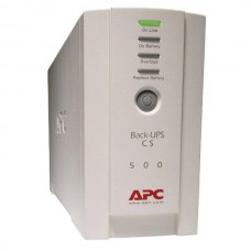 UPS APC Backup CS 500 Tower, White, Acumulator Defect