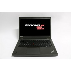 Laptop Lenovo ThinkPad T440p, Intel Core i5 Gen 4 4300M 2.6 GHz, 4 GB DDR3, 128 GB SSD NOU, DVD-ROM, WI-FI, Bluetooth, Webcam, Display 14inch 1366 by 768