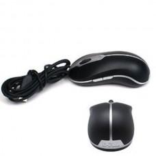 Mouse Optic Dell, MOA8BO, USB, Black