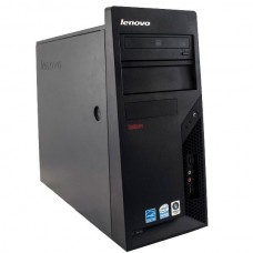 Calculator Lenovo ThinkCentre M58 Tower, Intel Core 2 Duo E8400 3.0 GHz, 4 GB DDR3, 160 GB HDD SATA, DVDRW, Windows 10 Pro, 3 Ani Garantie