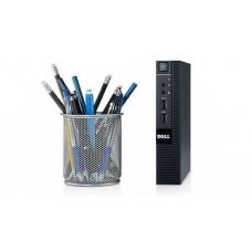 Calculator Dell Optiplex 9020 Micro, Intel Core i5 Gen 4 4590T 2.0 GHz, 4 GB DDR3, 480 GB SSD NOU, Windows 10 Home, 3 Ani Garantie