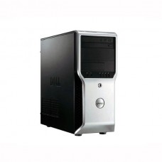 Workstation DELL Precision T1600 Tower, Intel Core i3 Gen 2 2100 3.1 GHz, 4 GB DDR3, 250 GB HDD SATA, DVDRW, Placa Video ATI Radeon HD6350, Windows 10 Home, 3 Ani Garantie