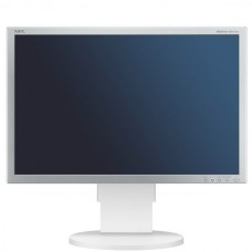 Monitor 24 inch LCD, Full HD, NEC EA241WM, Silver & White