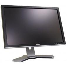 Monitor 20 inch LCD Wide, DELL Ultrasharp 2009W, Black & Silver