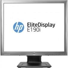 Monitor 19 inch LED IPS, HP EliteDisplay E190i, Silver & Black, 3 Ani Garantie