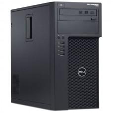 Workstation DELL Precision T1650 Tower, Intel Quad Core Xeon E3-1240 v2 3.4 GHz, 8 GB DDR3, 500 GB HDD SATA + 500 GB HDD SATA, DVDRW, Placa Video nVidia GeForce 8400 GS, Windows 10 Home
