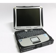 Laptop Panasonic CF-19 Toughbook, Intel Core i5 Gen 2 2520M, 2.5 GHz, 4 GB DDR3, 320 GB HDD SATA, WI-FI, GPS, 3G, Bluetooth, Display 10.3inch 1024 by 768 Touchscreen, Windows 10 Home, 3 Ani Garantie