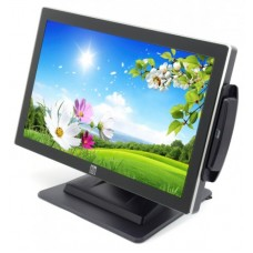 Monitor 19 inch LED Wide, ELO ET1919L-AUWA-1-GY, Black, Touchscreen, Cititor Card, 3 ANI GARANTIE