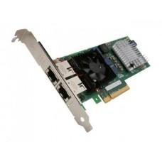 Placa Retea Dell 0JM42W, Intel X520-t2 10GB Dual Port RJ45, PCI-e 8x
