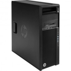 Workstation HP Z440 Tower, Intel Quad Core Xeon E5-1620 v3 3.5 GHz, 16 GB DDR4 ECC, 256 GB SSD NOU, DVDRW, Placa Video NVIDIA Quadro K2200, Windows 10 Pro, 3 Ani Garantie