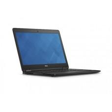 Laptop Dell Latitude E7470 UltraBook, Intel Core i5 Gen 6 6300U 2.4 GHz, 8 GB DDR4, 256 GB SSD M.2, WI-FI, Bluetooth, WebCam, Tastatura Iluminata, Display 14inch 1366 by 768