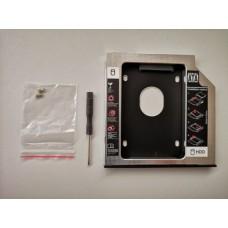HDD Caddy Laptop NOU 9,5mm, SATA