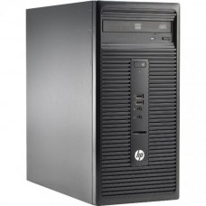 Calculator HP 280 G1 Tower, Intel Core i5 Gen 4 4590S 3.0 GHz, 4 GB DDR3, 250 GB HDD SATA, DVDRW
