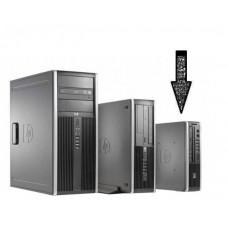 Calculator HP Compaq Elite 8000 Desktop USDT, Intel Core 2 Duo E8500 3.16 GHz, 4 GB DDR3, 250 GB HDD SATA, DVDRW