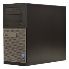 Calculator Dell Optiplex 390 Tower, Intel Core i3 Gen 2 2100 3.1 GHz, 4 GB DDR3, 250 GB HDD SATA, DVDRW, Windows 10 Home, 3 Ani Garantie