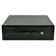 Calculator HP ProDesk 400 G1 Desktop, Intel Core i3 Gen 4 4160 3.6 GHz, 4 GB DDR3, 250 GB HDD SATA, DVDRW