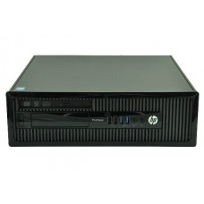 Calculator HP ProDesk 400 G1 Desktop, Intel Core i5 Gen 4 4670 3.4 GHz, 4 GB DDR3, 250 GB HDD SATA, DVDRW