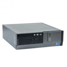 Calculator Dell Optiplex 3020 Desktop SFF, Intel Core i3 Gen 4 4160 3.6 GHz, 4 GB DDR3, 250 GB HDD SATA, DVD-ROM, Windows 10 Home, 3 Ani Garantie