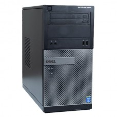 Calculator Dell Optiplex 3020 Tower, Intel Core i3 Gen 4 4130 3.4 GHz, 4 GB DDR3, 250 GB HDD SATA, DVD-ROM, Windows 10 Home, 3 Ani Garantie