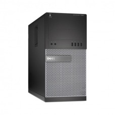 Calculator Dell Optiplex 7020 Tower, Intel Core i3 Gen 4 4160 3.6 GHz, 4 GB DDR3, 500 GB HDD SATA, DVD-ROM