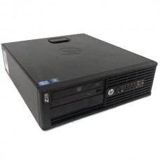 Workstation HP Z220 Desktop, Intel Core i5 Gen 3 3470 3.2 Ghz, 4 GB DDR3, 500 GB HDD SATA, DVDRW, Windows 10 Home, 3 Ani Garantie