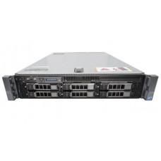 Server DELL PowerEdge R710, Rackabil 2U, 2 Procesoare Intel Six Core Xeon X5660 2.8 GHz, 48 GB DDR3 ECC Reg, 6 bay-uri de 3.5inch, Raid Controller SAS/SATA DELL Perc H700mini, IDrac 6 Ent, 2 x Surse Redundante
