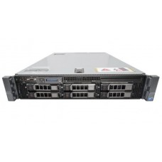 Server DELL PowerEdge R710, Rackabil 2U, 2 Procesoare Intel Six Core Xeon X5660 2.8 GHz, 48 GB DDR3 ECC Reg, 6 bay-uri de 3.5inch, DVD-ROM, Raid Controller SAS/SATA DELL Perc H700mini, IDrac 6 Ent, 2 x Surse Redundante
