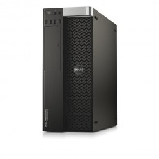 Workstation DELL Precision T5810 Tower, Intel Quad Core Xeon E5-1607 v3 3.1 GHz, 16 GB DDR4 ECC, 500 GB HDD SATA, DVD, Placa Video NVIDIA Quadro K600, Windows 10 Home, 3 Ani Garantie