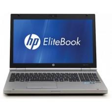 Laptop HP EliteBook 8560p, Intel Core i5 Gen 2 2520M, 2.5 GHz, 4 GB DDR3, 320 GB HDD SATA, DVDRW, Placa Video AMD Radeon 6470M, WI-FI, WebCam, Display 15.6inch 1366 by 768, Windows 10 Home, 3 Ani Garantie