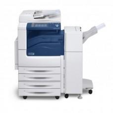 Imprimanta Multifunctionala Laser Color A3/A4 Xerox WorkCentre 7535, 35 pagini/minut, 110.000 pagini/luna, 1200/1400 DPI, USB, Network, Fax, Duplex, Finisher, Capsator, Perforator, Lipsa Toner